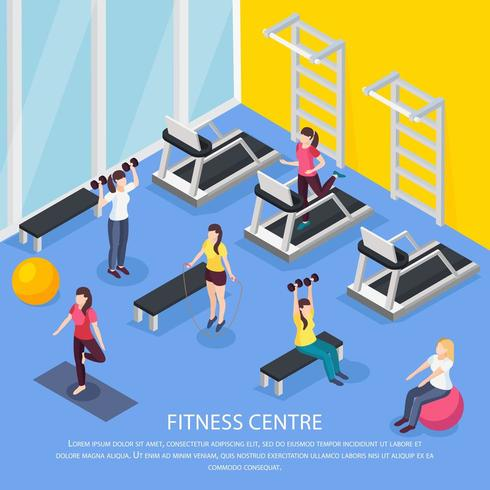 Fitness isométrico para mulheres