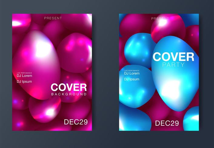 Layout poster moderno rivista