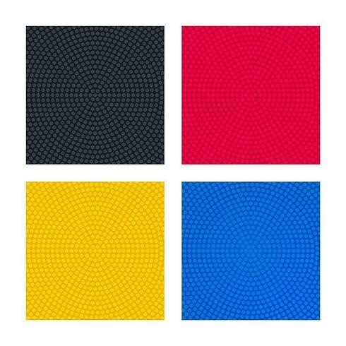 Fundos coloridos com texturas pontilhadas circulares