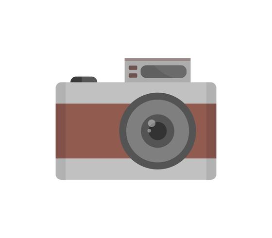 Kamerans ikon på en vit bakgrund