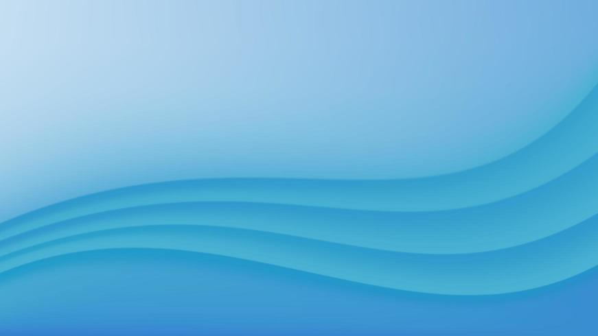 Sfondo astratto curva blu vettore