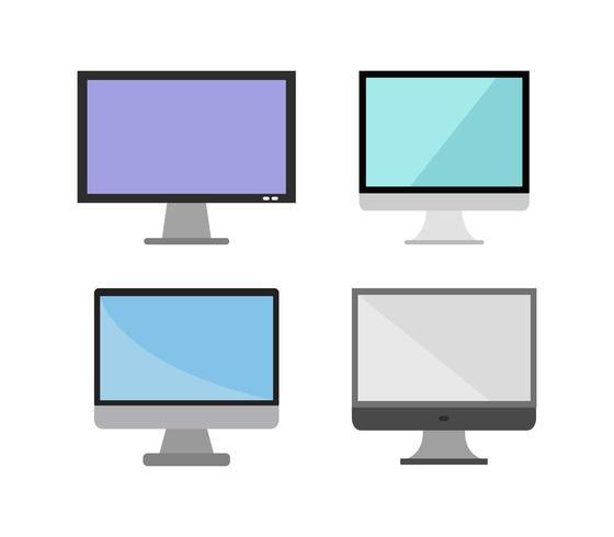 Ikonuppsättning för datorskärm