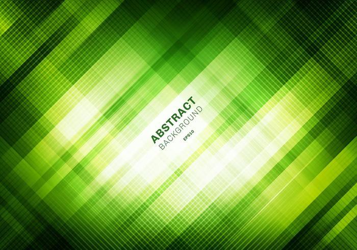 Abstrait motif de grille verte rayée avec éclairage vecteur