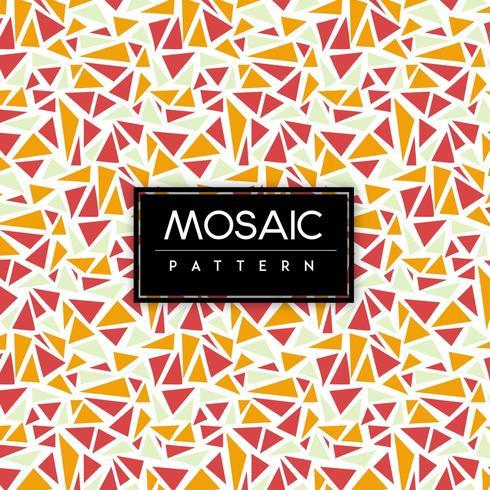 Färgglad sömlös bakgrund för mosaik