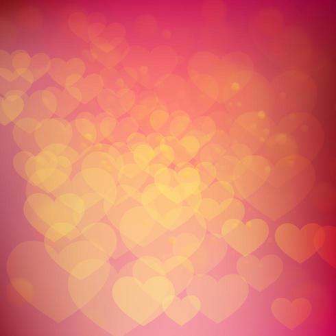 Heart Gradient Pattern