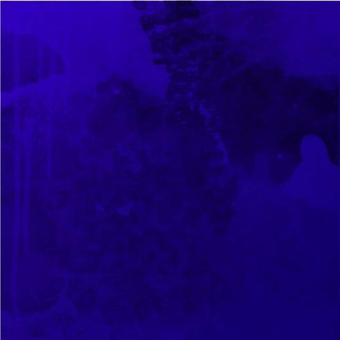 Fond aquarelle bleu foncé vecteur
