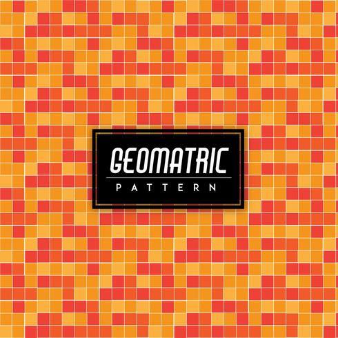 Monochromatique vérifie Tile Vector Background Seamless Pattern