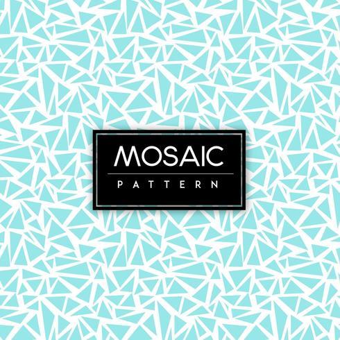 Fondo senza cuciture del modello del mosaico blu