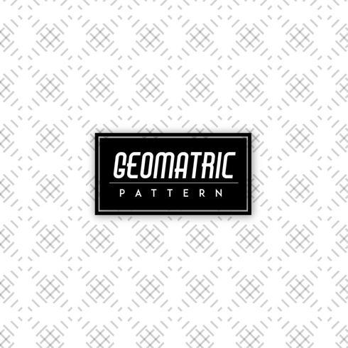 Sfondo bianco e nero motivo geometrico