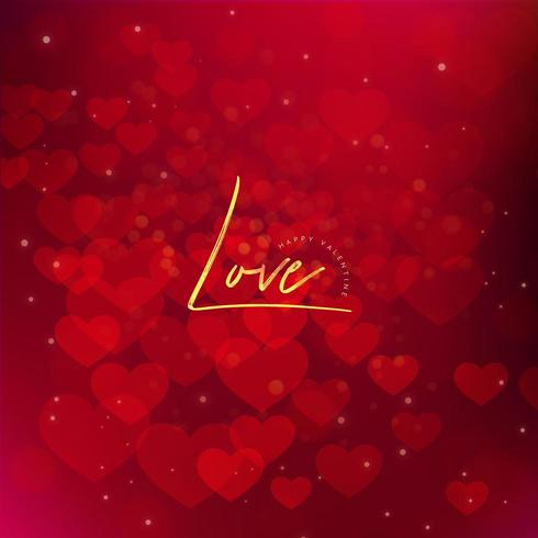 Fondo degradado de amor