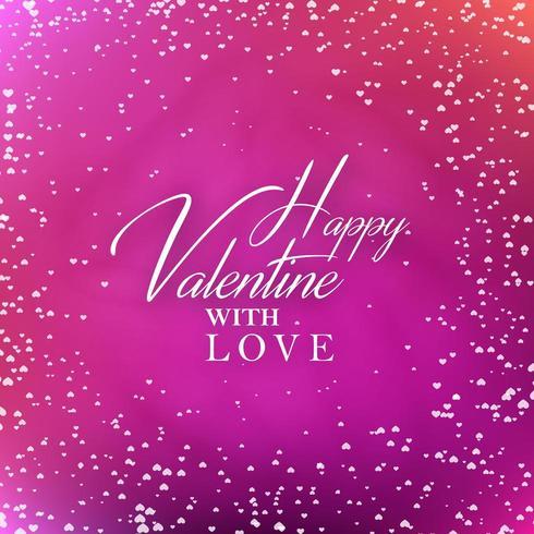Valentine avec carte d'amour vecteur