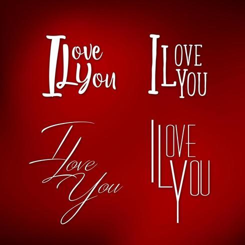 Ensemble de je t'aime