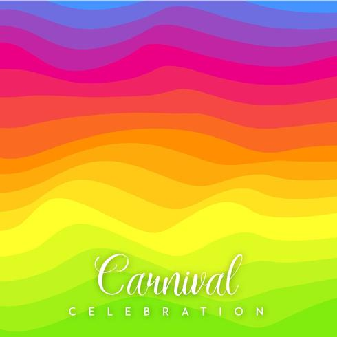 Fondo Coloful Vector Barnival Celebration