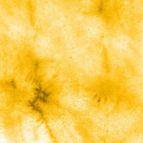 Yellow Watercolor Texture Background vector