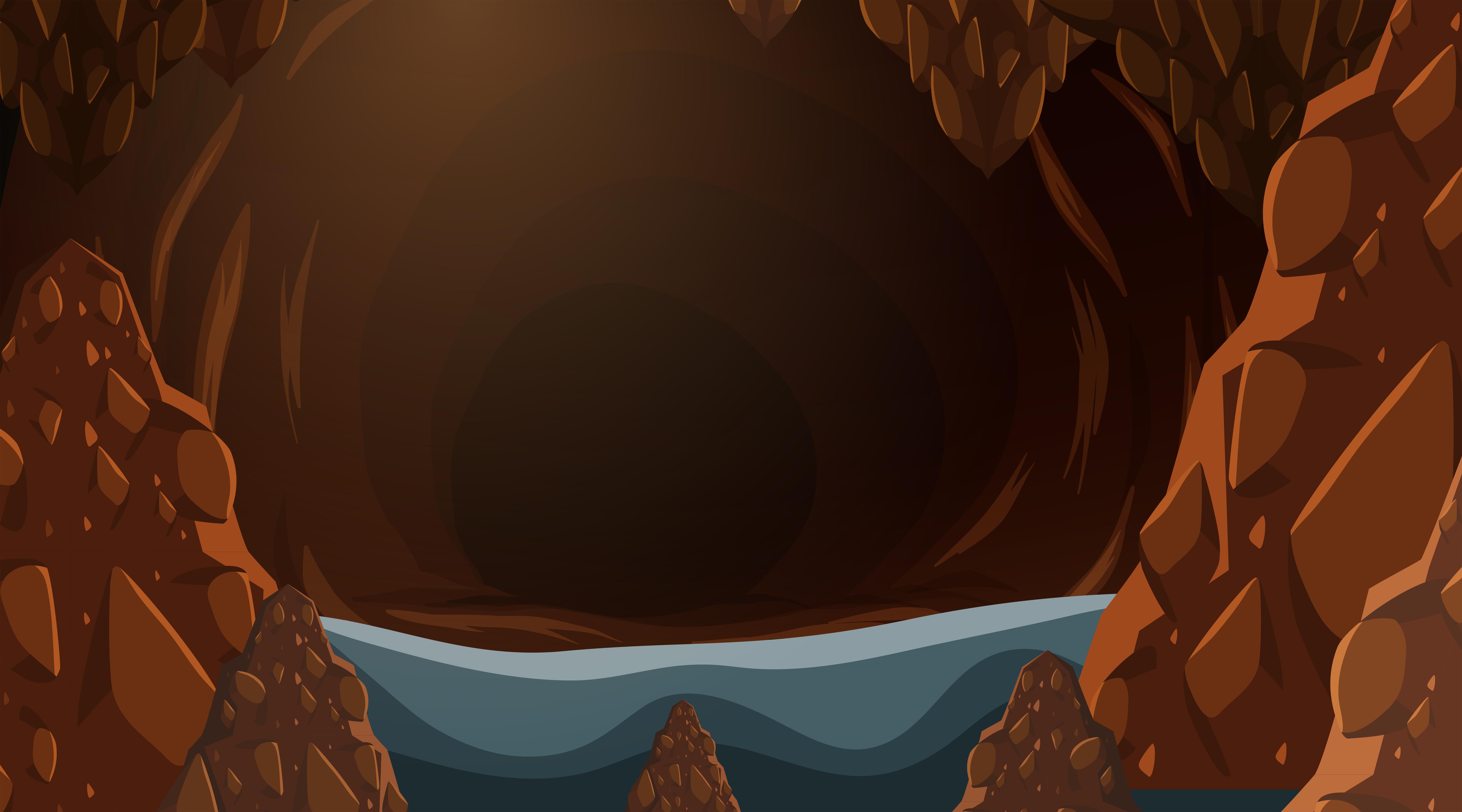 Dark Cave Background Download Free Vectors Clipart Graphics Vector Art