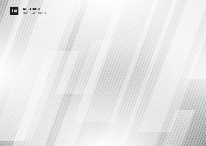 Concepto de tecnología moderna abstracta gris geométrica vector