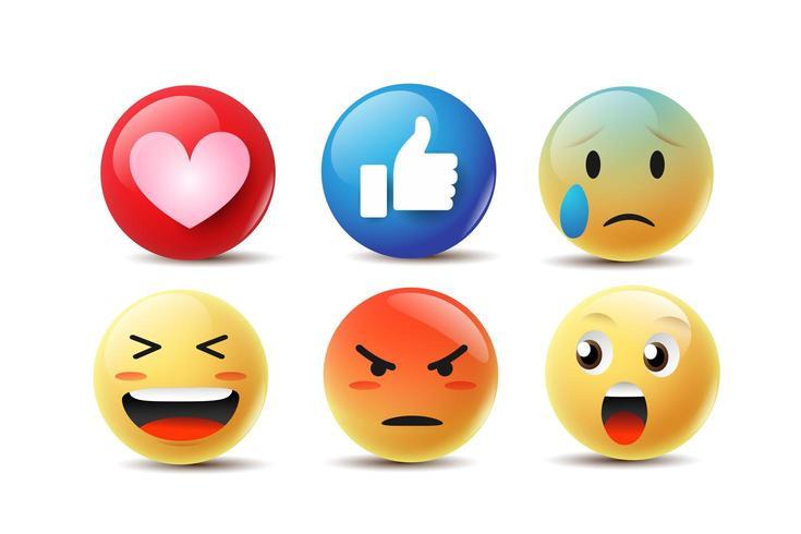 Emoji sintiendo caras