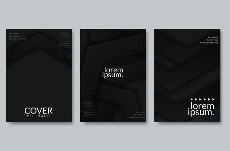 Abstraktes Papierschnitt-Abdeckungsdesign