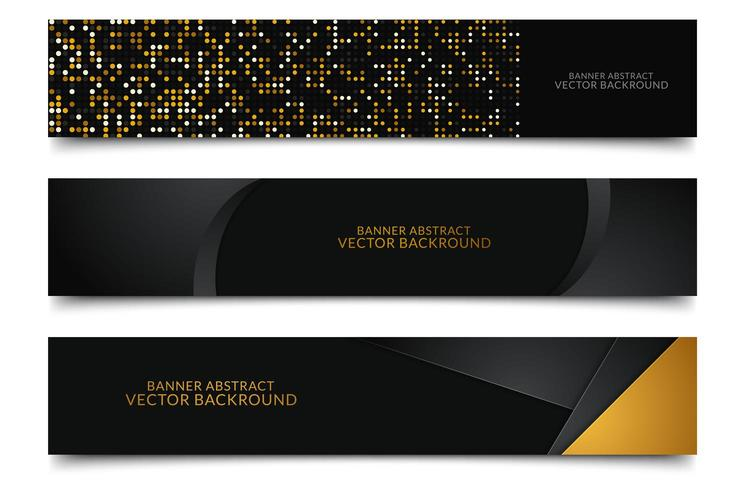 Modern Banner background vector
