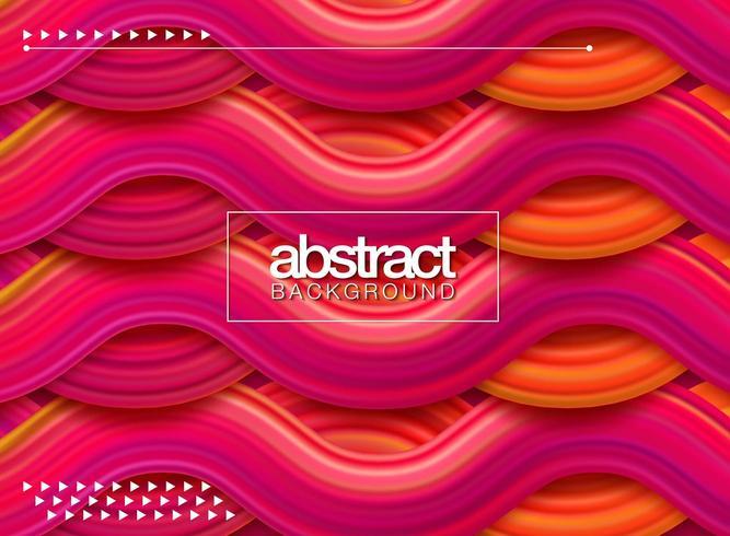 Wave Liquid shape color background vector