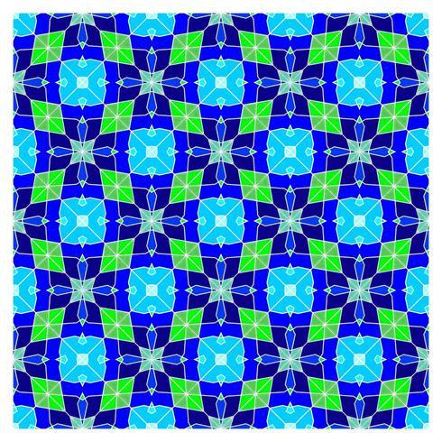 Ilusión óptica geométrica de patrones sin fisuras vector