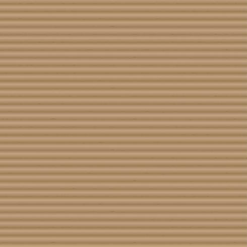 Creste orizzontali del fondo della carta marrone di struttura del cartone