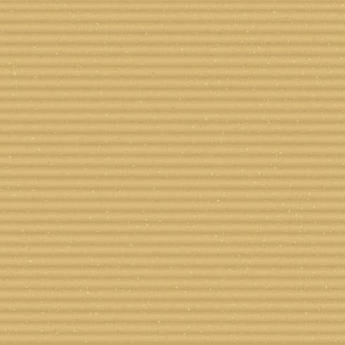 Cantos horizontales de textura de cartón tostado vector