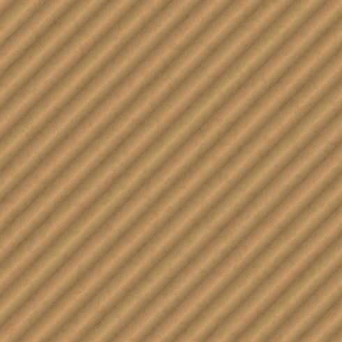Fondo spesso delle creste diagonali della carta marrone di struttura del cartone