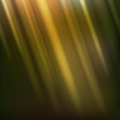 Rayos de luz finos diagonales dorados vector