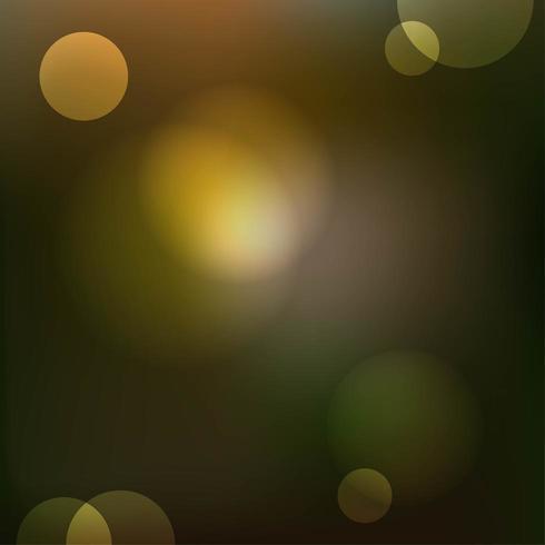 Fondo de luz bokeh brillo dorado vector