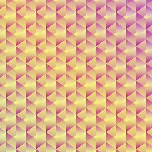 Abstrait cube géométrique sans soudure