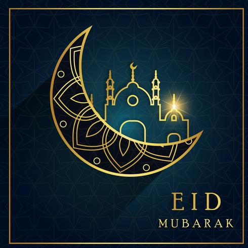 Abstract Ramadan Islamic Background vector