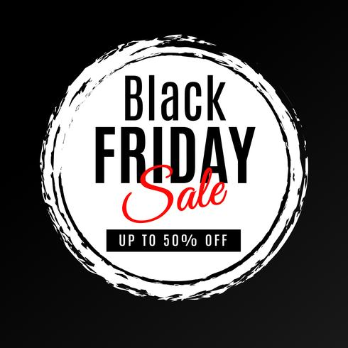 Sexta-feira negra venda fundo