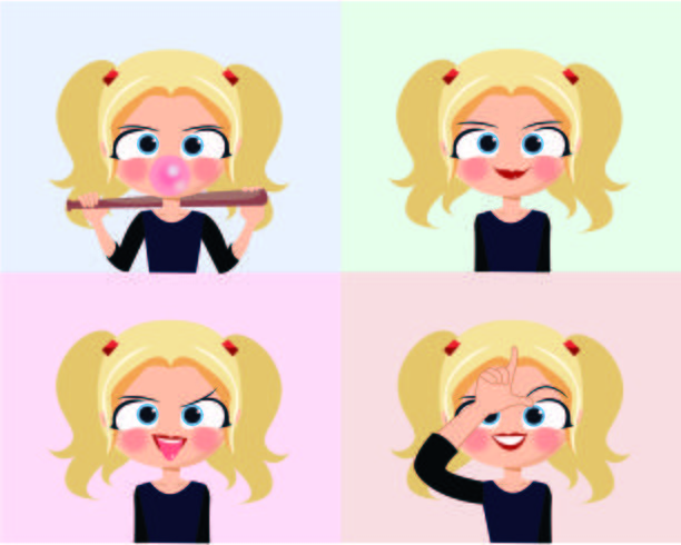 Kid Character Set