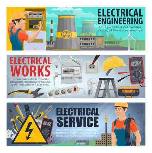Banner di ingegneria elettrica