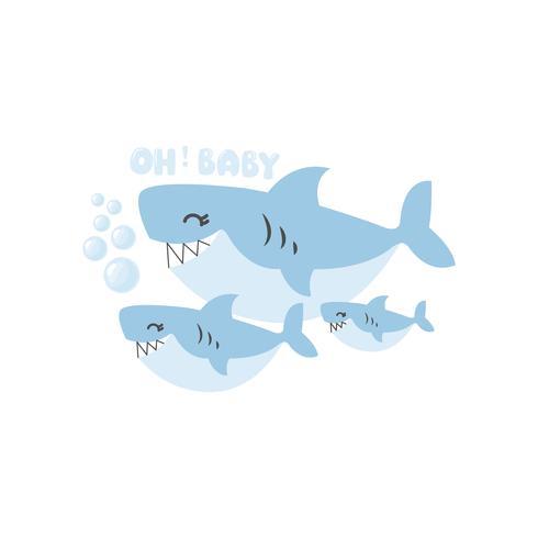 Requin bébé Oh bébé bande dessinée familiale