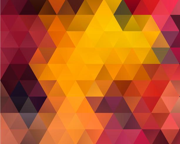 Fondo de triángulo polígono