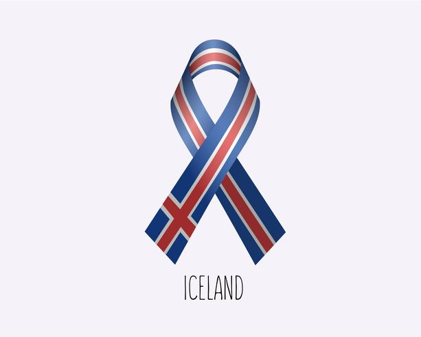Nastro islandese in lutto