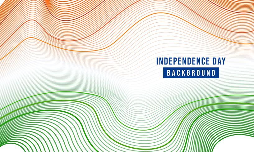 illustration festive de la fête de l'indépendance en Inde, le 15 août