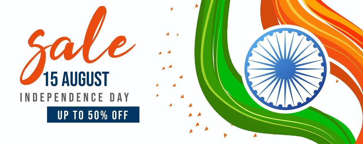 Celebración del Día de la independencia, 15 de agosto, bandera india