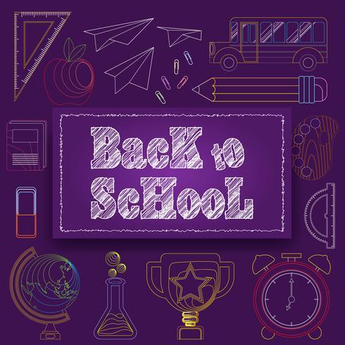 Señal de regreso a la escuela