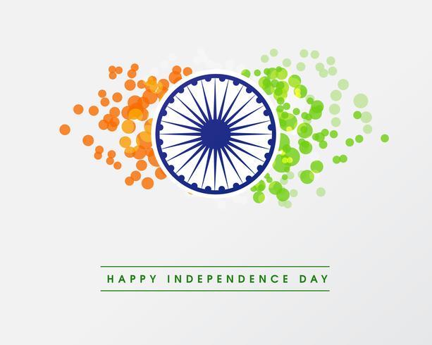 Illustratie van gelukkige Indische Republiek