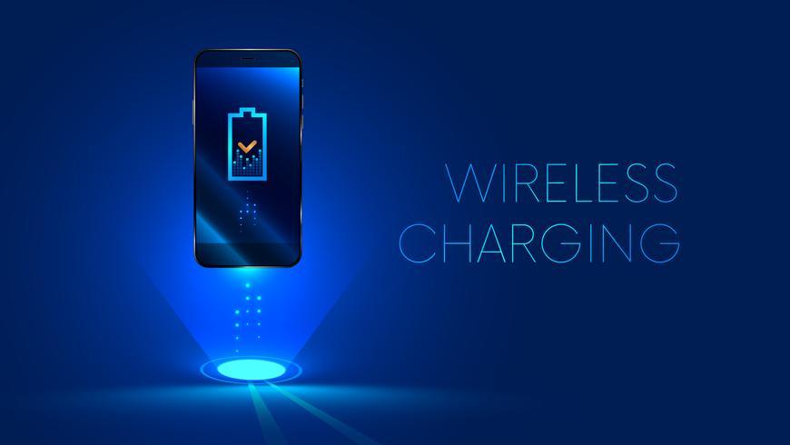 ricarica wireless dello smartphone