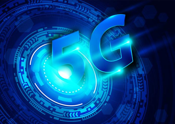 5G novo fundo de conexão sem fio à Internet wifi