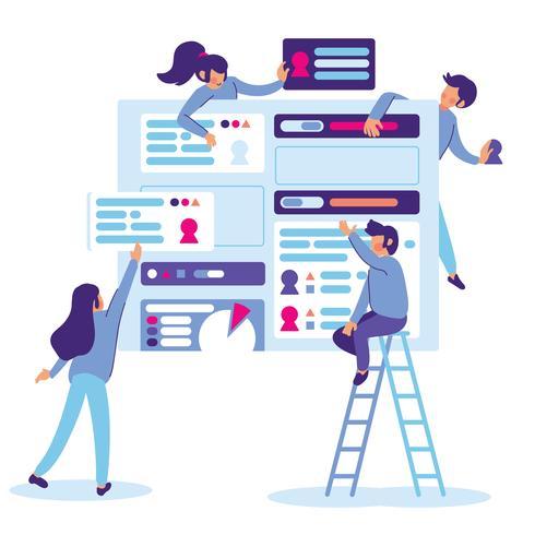 Team building progettazione dell'interfaccia utente