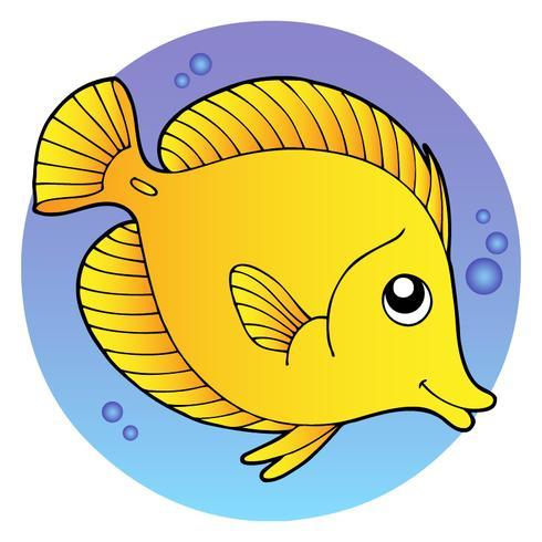 Cartoon stijl vis