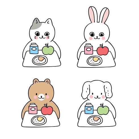 Tiere zur Mittagszeit