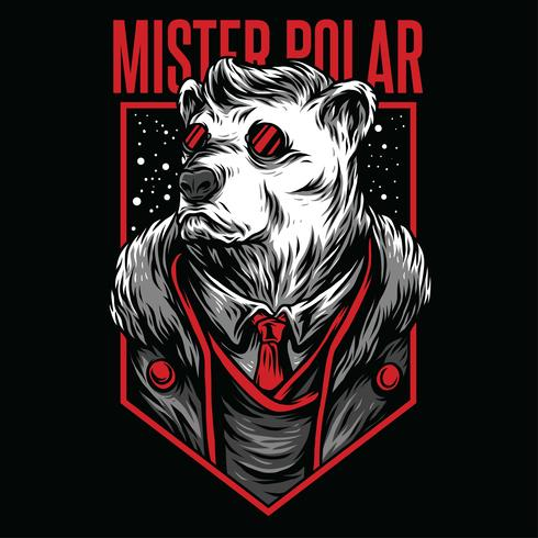 color swag animal illustration tshirt design