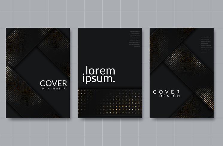 Set of elegant background design
