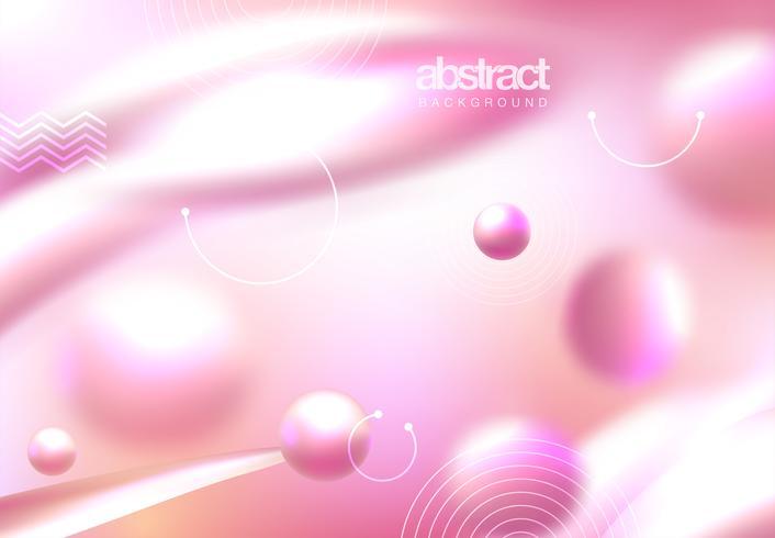 Portada abstracta rosa vector